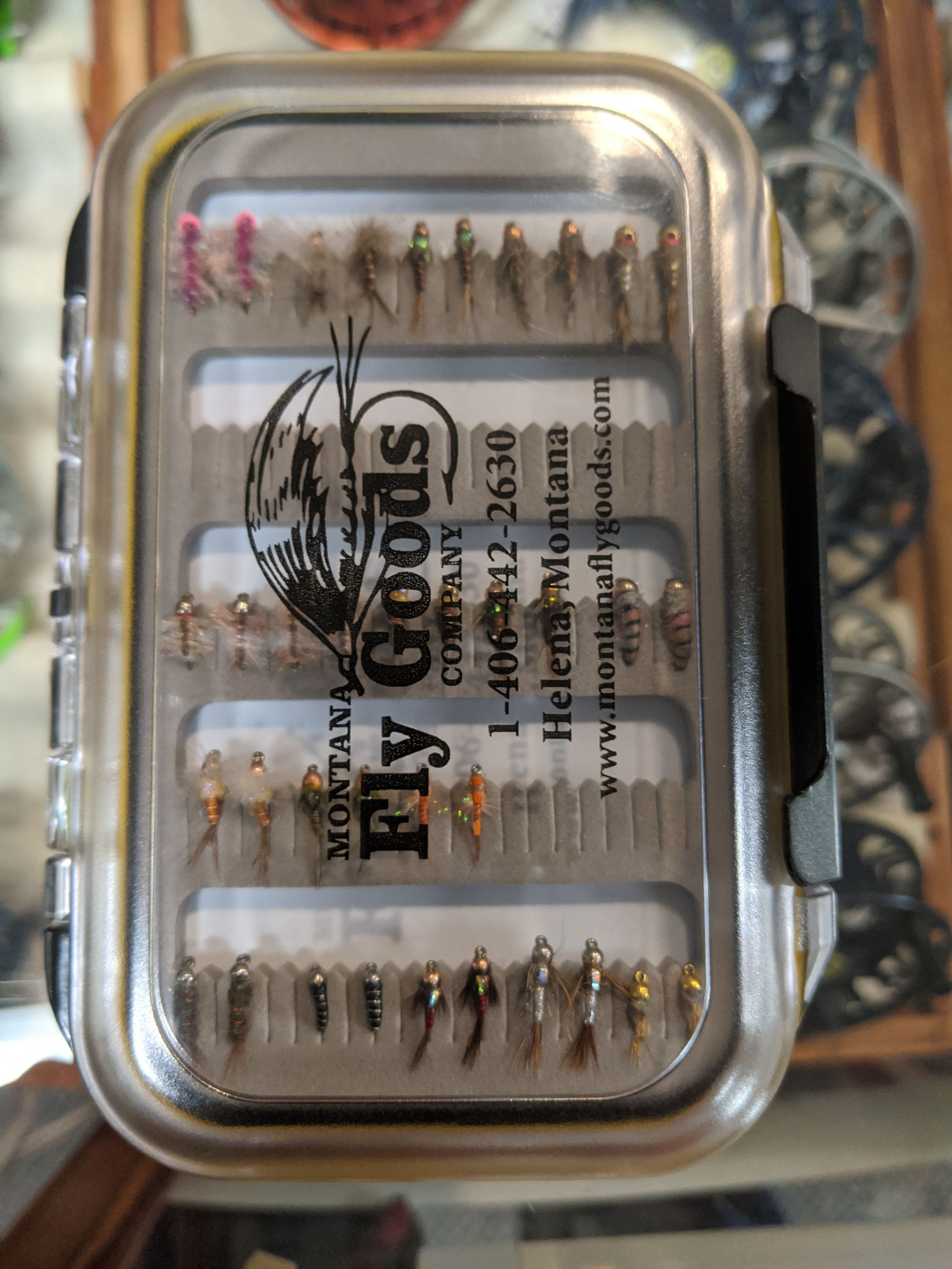 Missouri River Selection  Fly Boxes